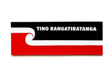 Tino Rangatiratanga Maori Flag - flat flag magnet