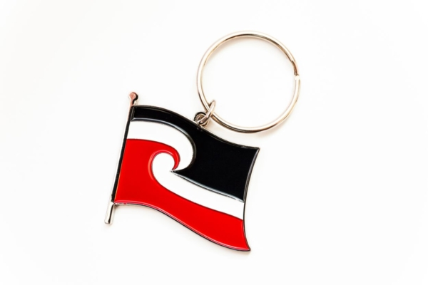 Tino Rangatiratanga Maori Flag - key ring
