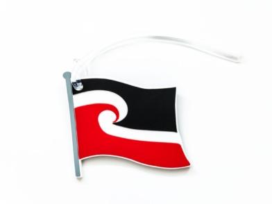 Tino Rangatiratanga Maori Flag - luggage tag