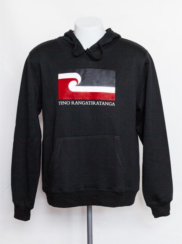 Tino Rangatiratanga Maori Flag - Unisex Hooded Sweatshirt